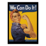 We Can Do It World War 2 Poster