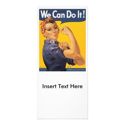 We Can Do It World War 2 Rack Card