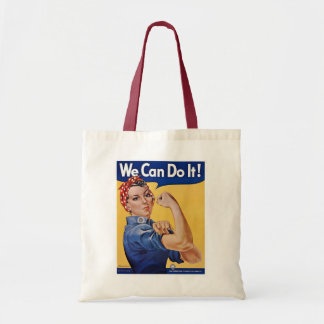 We Can Do It! - WW2 Budget Tote Bag