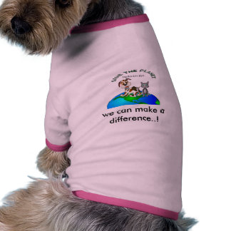 We can make a difference..! dog tee