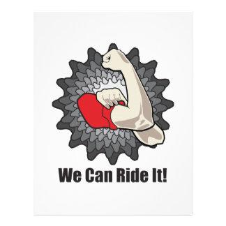We Can Ride It Letterhead