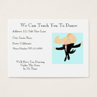 We Can Teach You To Dance Business Card
