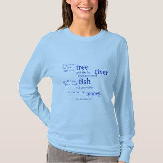 We cannot eat money .. T-Shirt