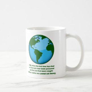 We Cannot Eat Money, We Cannot Eat Money Coffee Mug