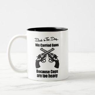 We Carried Guns Coffee Mug