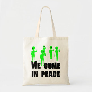 We Come In Peace Bag