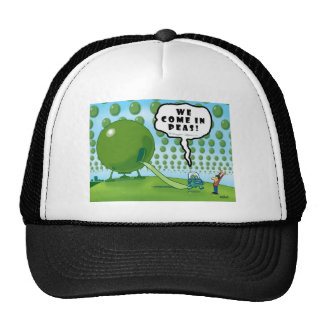 WE COME IN PEAS! MESH HAT