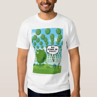 WE COME IN PEAS! T-SHIRT