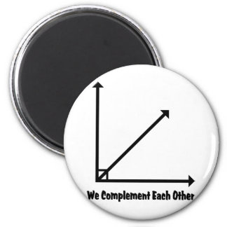 we complement each other magnet