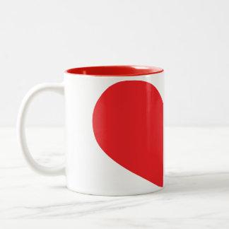 We Complete each other mug set.