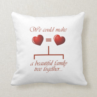 We Could Make A Beautiful Family Tree Throw Pillow