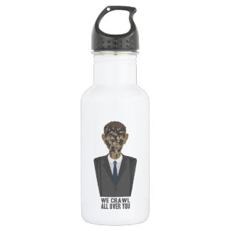 We Crawl All Over You Stainless Steel Water Bottle