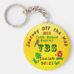 We Customize it,  Journey Off the Map Keychains