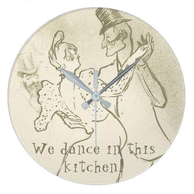 We dance in this kitchen | Lautrec, Dancing couple