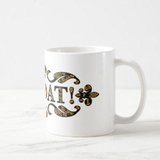 We Dat Gold NOLA Originals Mug