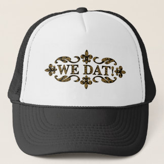 We Dat Gold NOLA Originals Trucker Hat