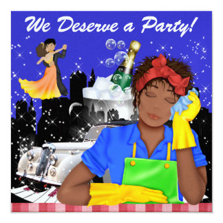 WE  Deserve a Party ! - SRF Card