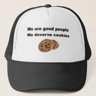 We Deserve Cookies. Trucker Hat