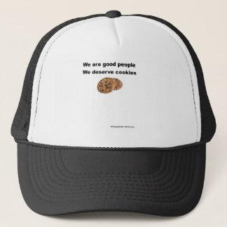 We Deserve Cookies Trucker Hat