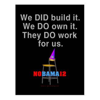 We DID Build It... Postcard