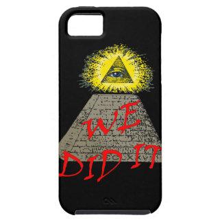 we did it (illuminati) iPhone SE/5/5s case