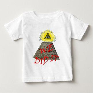 we did it (illuminati) t-shirt