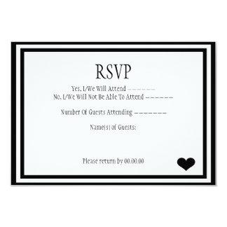 We Did It RSVP 3.5x5 Paper Invitation Card