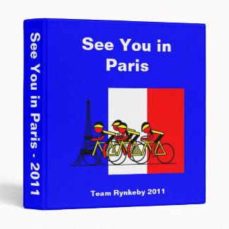 We did it - Team Rynkeby in Paris Binder