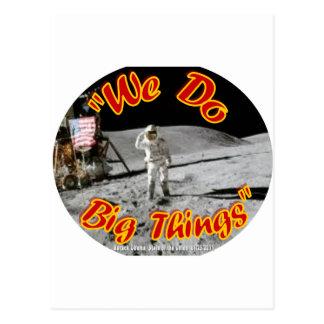We Do Big Things Postcard