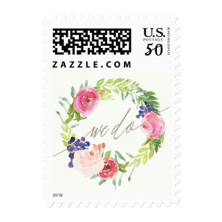 We Do Blooms Postage