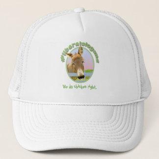 We do chicken right trucker hat