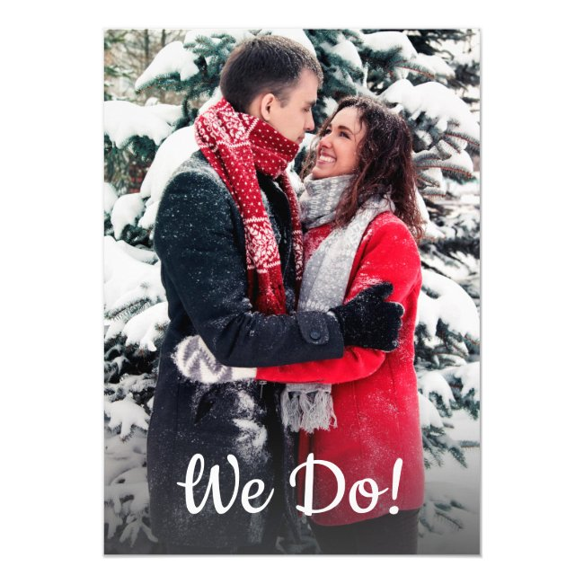 We Do! ENGAGEMENT PARTY Invites | Add PHOTO
