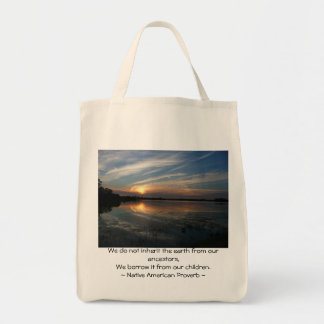 We do not inheret the earth... tote bag
