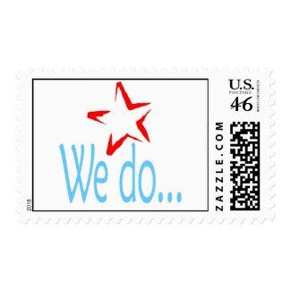 We Do.... stamp