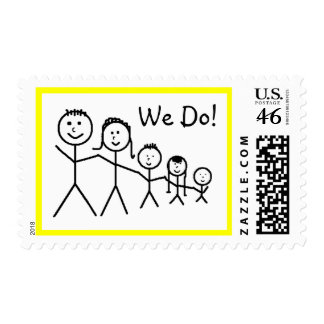 We Do! - postage stamps