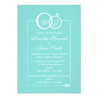 We Do Wedding Invitation