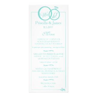 We Do Wedding Rack Card
