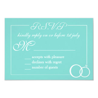 We Do Wedding RSVP Card