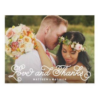 We Do | Wedding Thank You Postcard