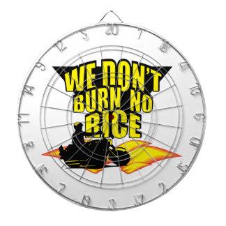We Don t Burn No Rice Dart Board