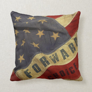 We don't turn back. We leave no one behind. Throw Pillow