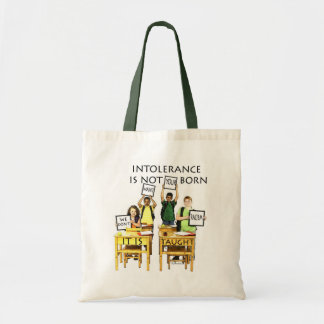 WE DON T WANT YOUR RACISM TOTE BAG