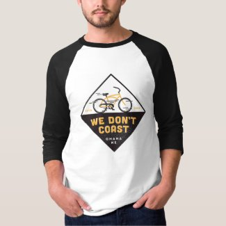 We Don't Coast | Diamond Bicycle T-Shirt