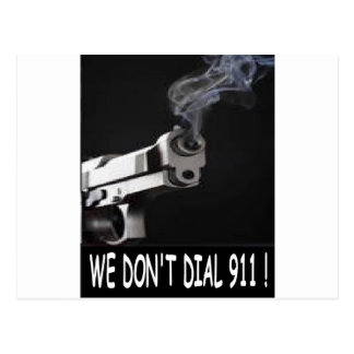 WE DON'T DIAL 911 ASSORTMENT POSTCARDS