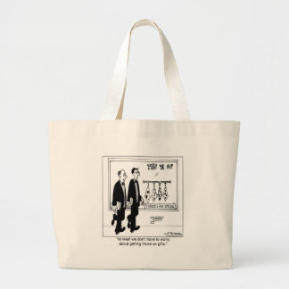 We Don't Have To Worry About Getting Ugly Ties Jumbo Tote Bag