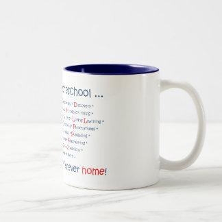 We Don't Homeschool Two-Tone Coffee Mug