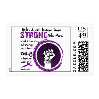 We dont know how strong we are... lupus postage