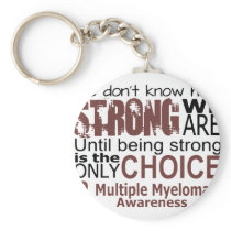 we dont know how we are strong until being strong keychain