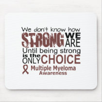 we dont know how we are strong until being strong mouse pad