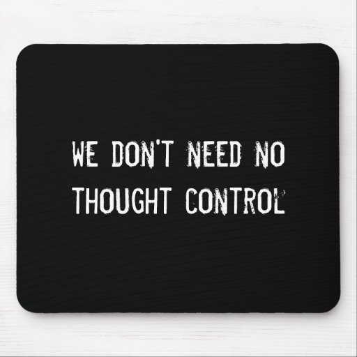 we don't need no thought control mouse pad